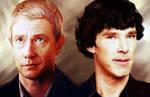 Sherlock Holmes and John Watson Study