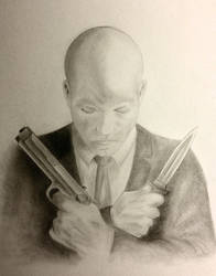 Agent 47 Self Portrait