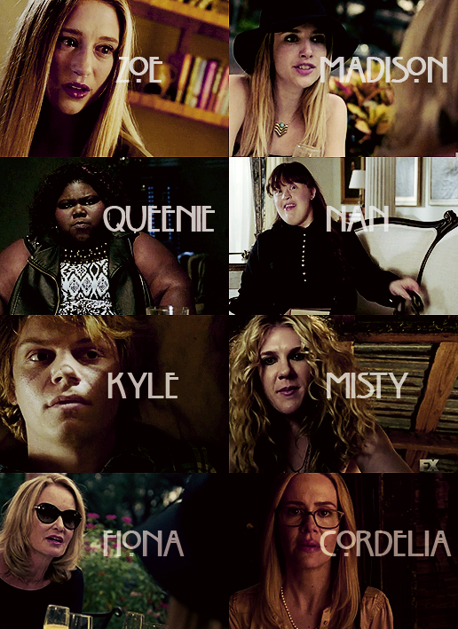 american horror story coven cast wallpaper