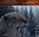 Smilodon fatalis (winter smilo)