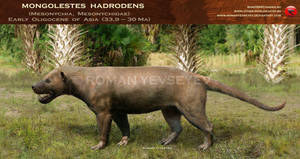 Mongolestes hadrodens by RomanYevseyev