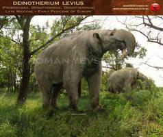 Deinotherium levius by RomanYevseyev