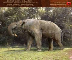 Deinotherium giganteum by RomanYevseyev