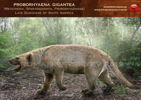 Proborhyaena  gigantea by RomanYevseyev