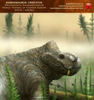 Rabidosaurus cristatus by RomanYevseyev