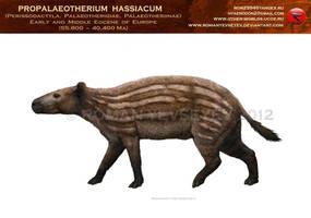 Propalaeotherium by RomanYevseyev