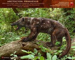 Arctocyon primaevus by RomanYevseyev