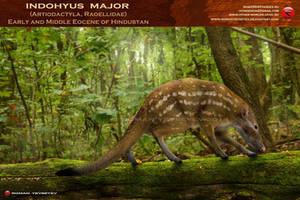 Indohyus major by RomanYevseyev
