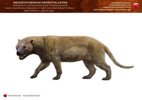 Megistotherium osteothlastes by RomanYevseyev