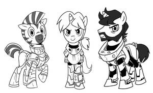 Rangers of Wintertrot. By CSIMadMax by equilibrik