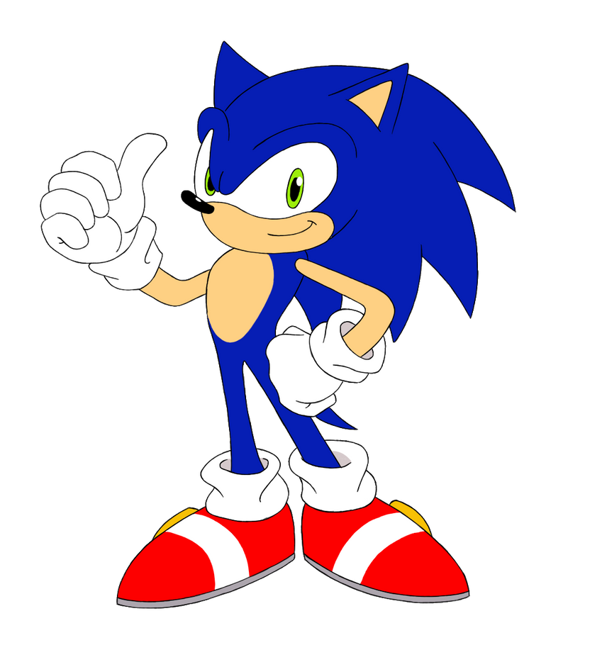 Sonic the Hedgehog by equilibrik