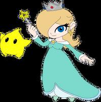 Rosalina and Luma Chibi by equilibrik