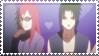 Naruto: SasuKarin Stamp by zwinkyaddicted