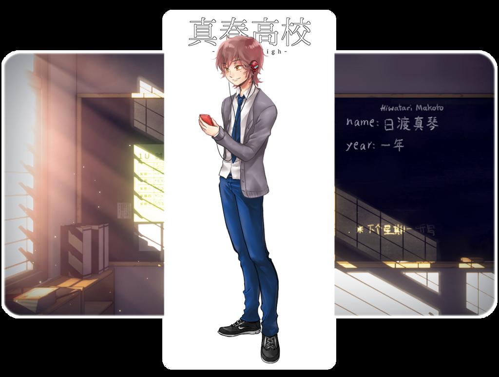 [Hiwatari, Makoto - MH] by laexdream