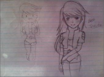 Beth Tezuka-Sketch by animeluv95