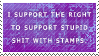 .Stamp. Support Stupid Shit by KillMePleaseGod