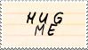 .Stamp. Hug Me by KillMePleaseGod
