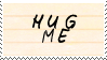 .Stamp. Hug Me by KillMePleaseGod