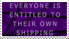 .Stamp. Shipping Opinion by KillMePleaseGod