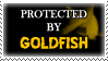 .Stamp. Protected by Goldfish by KillMePleaseGod
