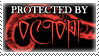 .Stamp. Protected by Octopi by KillMePleaseGod