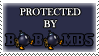 .Stamp. Protected by Bob-Ombs by KillMePleaseGod