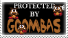 .Stamp. Protected by Goombas by KillMePleaseGod