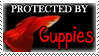 .Stamp. Protected by Guppies by KillMePleaseGod