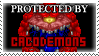 .Stamp. Protected by Cacodemon by KillMePleaseGod