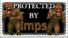 .Stamp. Protected by Imps by KillMePleaseGod
