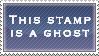 .Stamp. Ghost by KillMePleaseGod