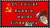 .Stamp. Waldo Finds You by KillMePleaseGod