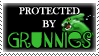 .Stamp. Protected by Grunnies by KillMePleaseGod