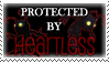 .Stamp. Protected by Heartless