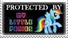 .Stamp. Protected by MLPs by KillMePleaseGod