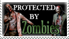 .Stamp. Protected by Zombies by KillMePleaseGod