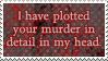 .Stamp. Detailed Murder