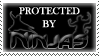.Stamp. Protected by Ninjas by KillMePleaseGod