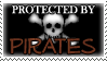 .Stamp. Protected by Pirates by KillMePleaseGod