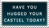 .Stamp. Hug Your Castiel by KillMePleaseGod