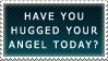 .Stamp. Hug Your Angel by KillMePleaseGod