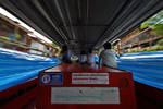Inside Canal Taxi by David-Will