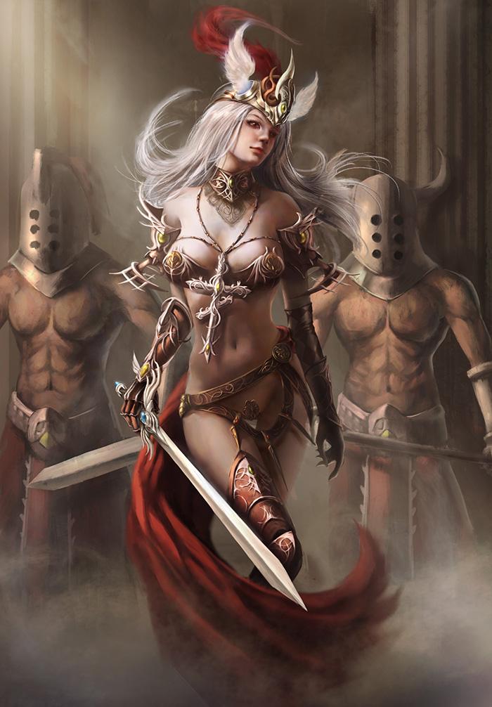 Goddess of War by toy1989820