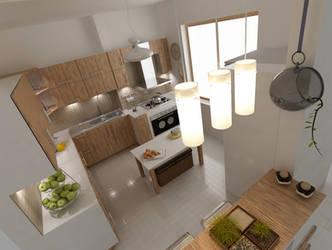 kitchen design 2 by shahrzadabtahi