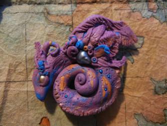 Moth Dragon by Acarron