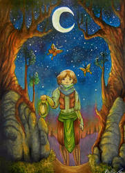 Follow the Moths by Acarron