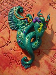 Teal Dragon by Acarron