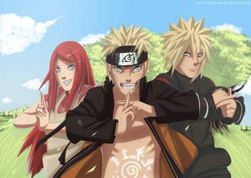 Shinobi Family by GustavoLaw