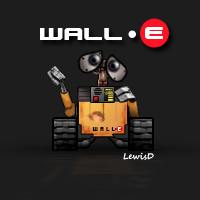 Meet Wall-E... by LewisD