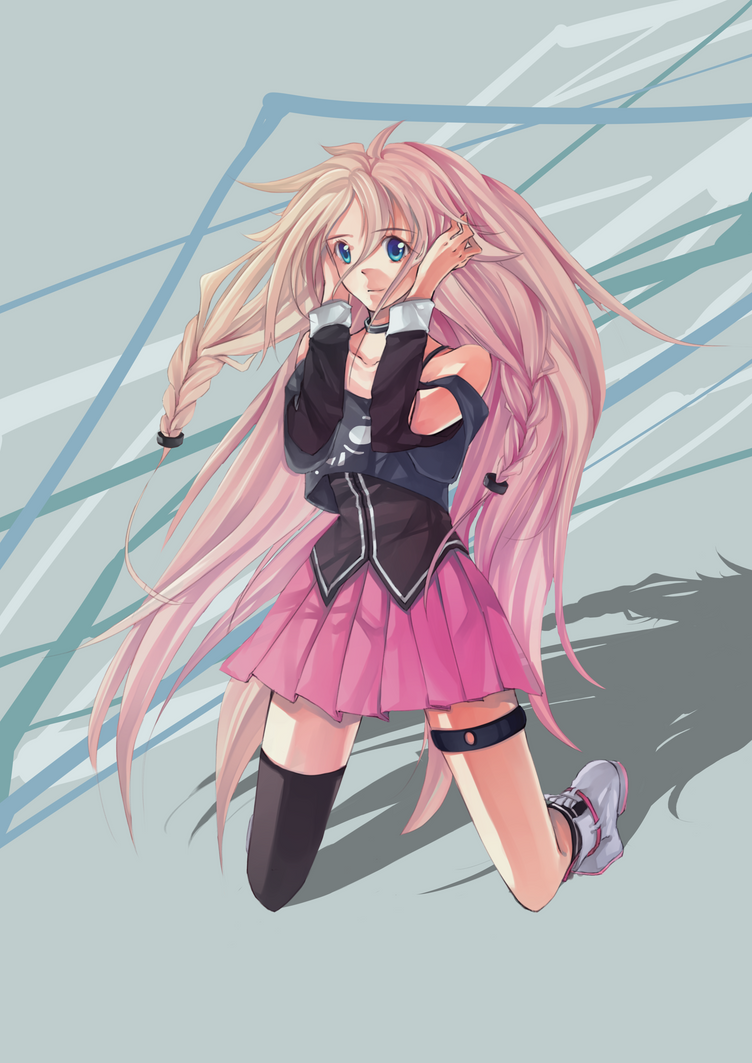 Vocaloid - IA by pockyholic on DeviantArt  Vocaloid - IA b...